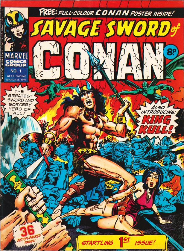 Savage Sword of Conan (UK) (1975) 1-A by Marvel UK