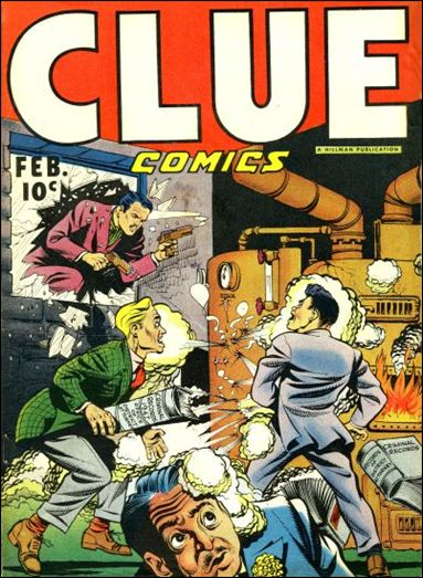 Clue Comics (1943) 12-A by Hillman