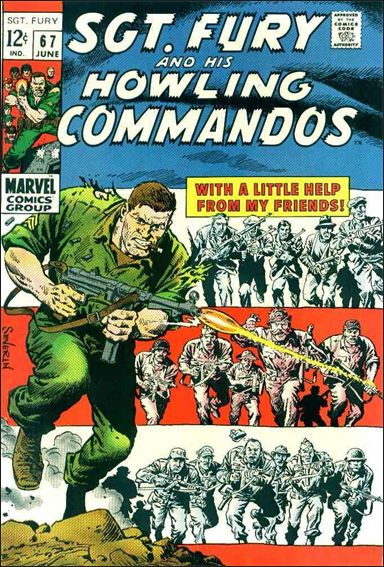 Sgt. Fury and His Howling Commandos 67-A by Marvel