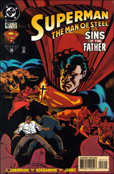 Superman: The Man of Steel 47-A by DC
