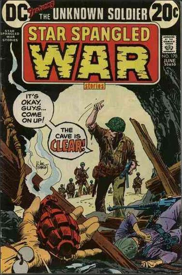 Star Spangled War Stories (1952) 170-A by DC