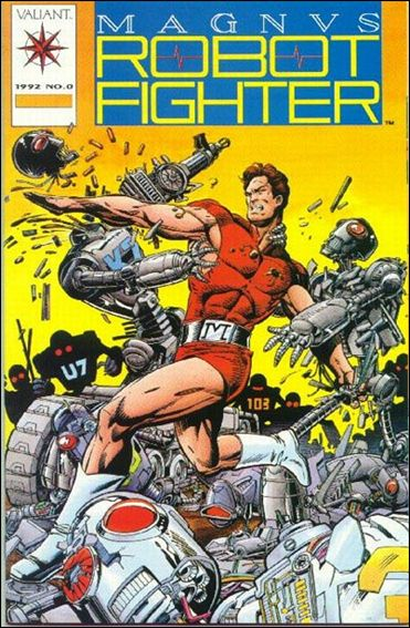 Magnus Robot Fighter (1991) 0-A by Valiant
