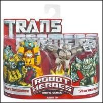 Transformers: Robot Heroes Allspark Bumblebee & Starscream by Hasbro