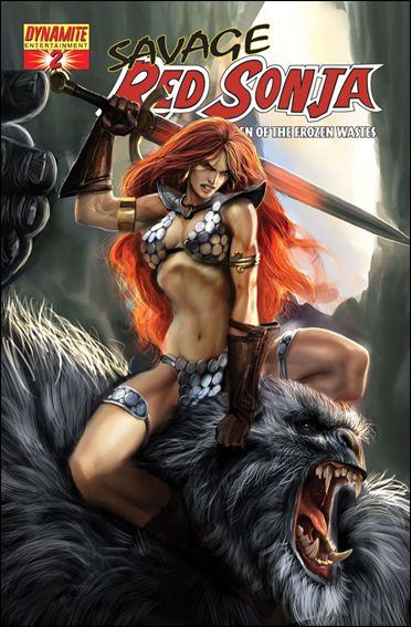 Savage Red Sonja: Queen of the Frozen Wastes 2-B by Dynamite Entertainment
