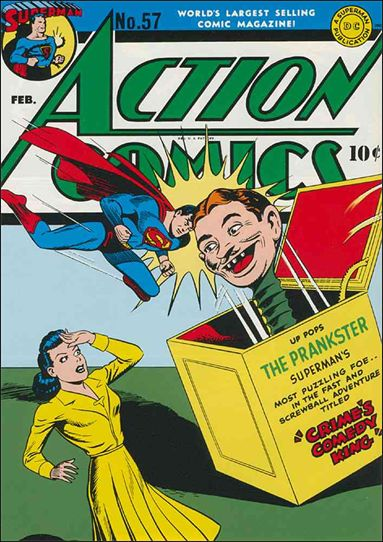 Action Comics (1938) 57-A by DC