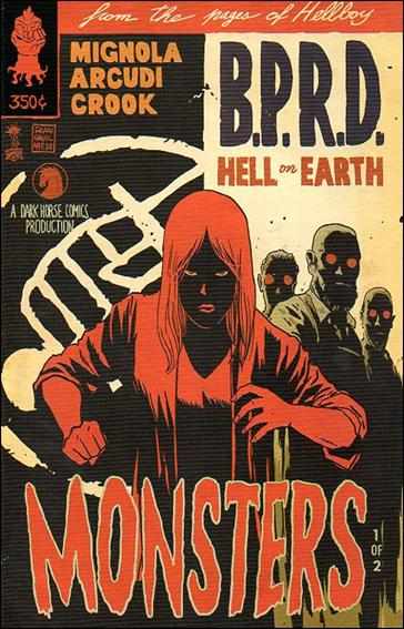 B.P.R.D. Hell on Earth: Monsters 1-B by Dark Horse