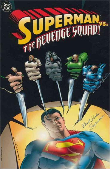 Superman vs the Revenge Squad 1-A by DC