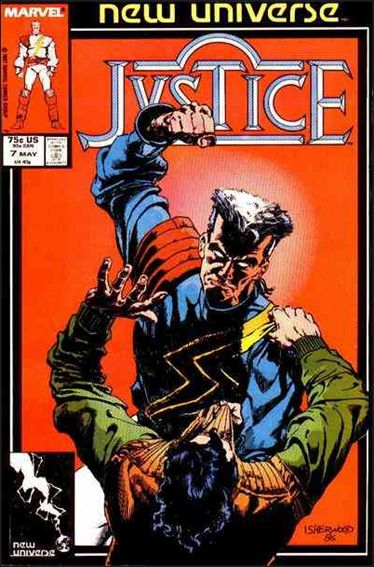 Justice (1986) 7-A by Marvel