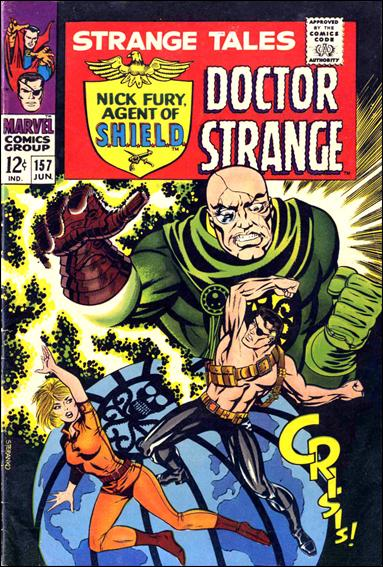 Strange Tales (1951) 157-A by Marvel