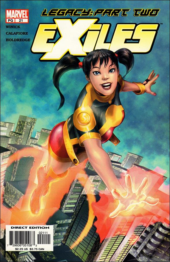 Exiles (2001) 21-A by Marvel
