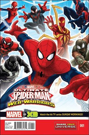 Marvel Universe Ultimate Spider-Man: Web Warriors 1-A