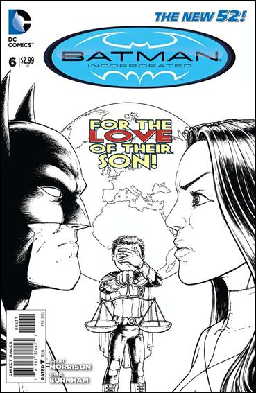 Batman Incorporated 6-E by DC