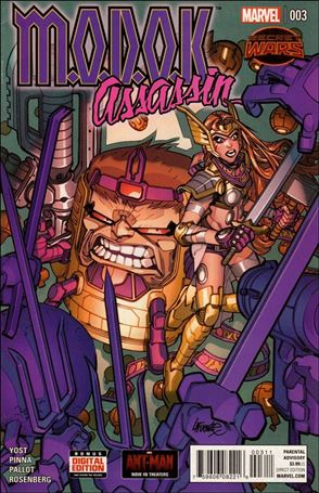 M.O.D.O.K. Assassin 3-A
