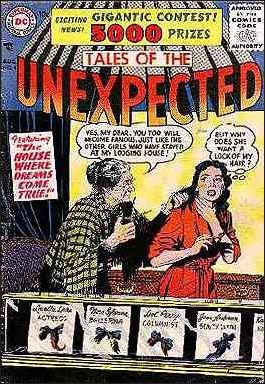 Tales of the Unexpected (1956) 4-A by DC