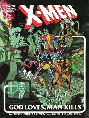 Marvel Graphic Novel 5-E