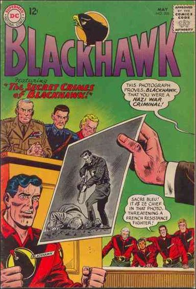 Blackhawk (1944) 208-A by DC