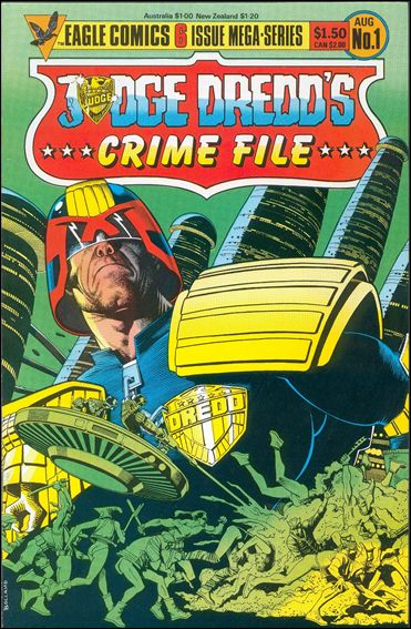 Judge Dredd's Crime File 1-A by Eagle Comics
