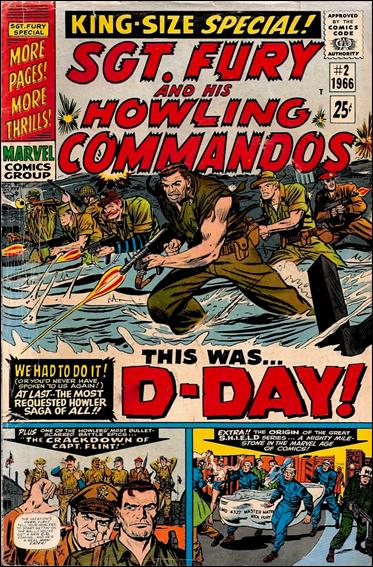 Sgt. Fury and His Howling Commandos Annual 2-A by Marvel