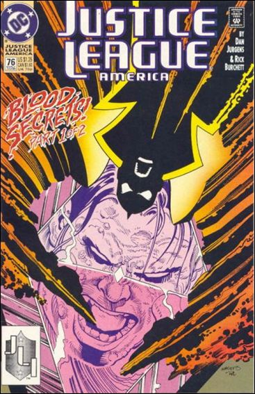 Justice League America 76-A by DC