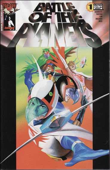 Battle of the Planets (2002) 1-A by Top Cow