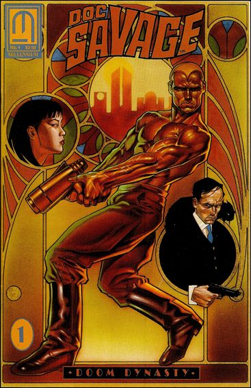 Doc Savage: Doom Dynasty 1-A by Millennium