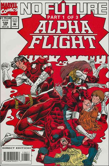 Alpha Flight (1983) 128-A by Marvel