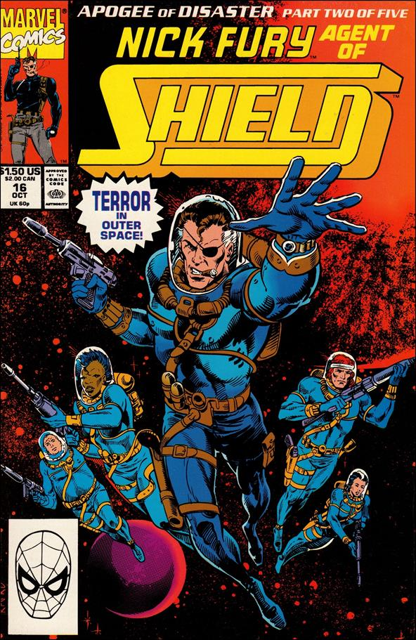 Nick Fury, Agent of S.H.I.E.L.D. (1989) 16-A by Marvel