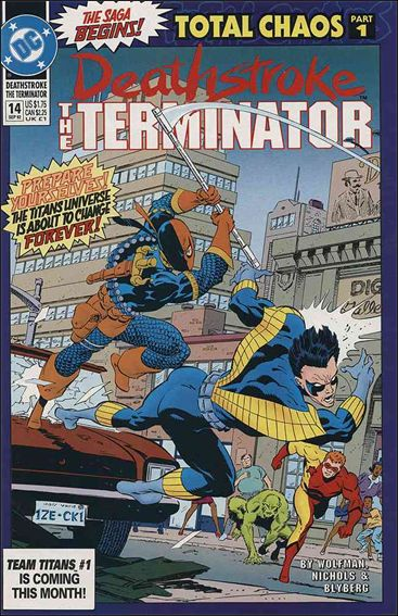 Deathstroke, the Terminator 14-A by DC