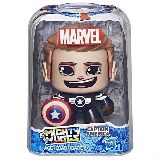 Marvel Mighty Muggs Wave 3 Captain America II by Hasbro