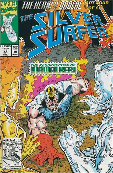 Silver Surfer (1987) 73-A by Marvel