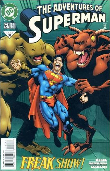 Adventures of Superman (1987) 537-A by DC