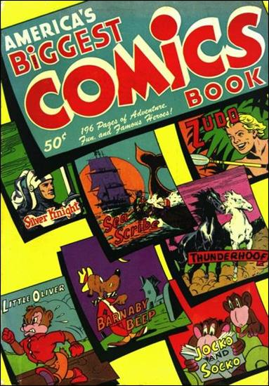 America's Biggest Comics Book 1-A by Standard