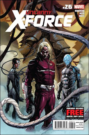 Uncanny X-Force (2010) 26-A by Marvel