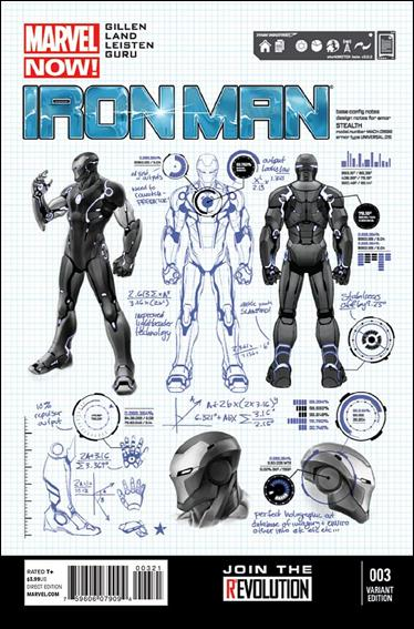 Iron Man (2013) 3-B by Marvel