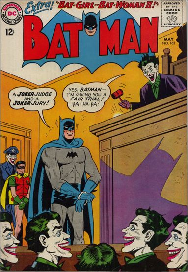 Batman (1940) 163-A by DC