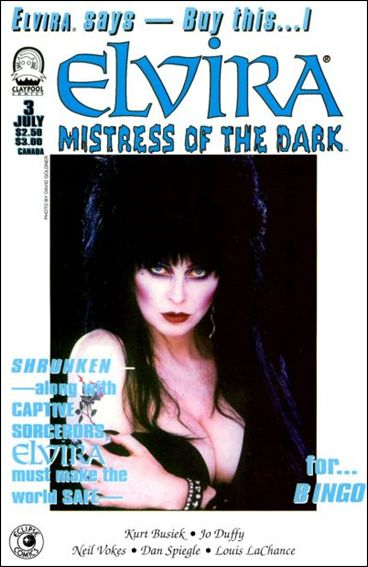 Elvira, Mistress of the Dark (1993) 3-A by Claypool