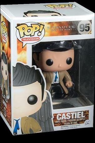 POP! Television Castiel (Black Winged Exclusive)
