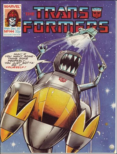 Transformers (UK) 144-A by Marvel UK