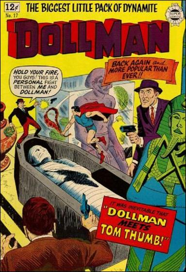 Doll Man (1963) 17-A by Super Comics