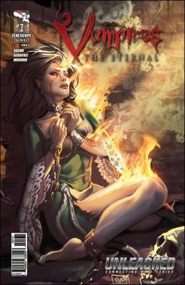 Grimm Fairy Tales Presents Vampires: The Eternal 1-C by Zenescope Entertainment