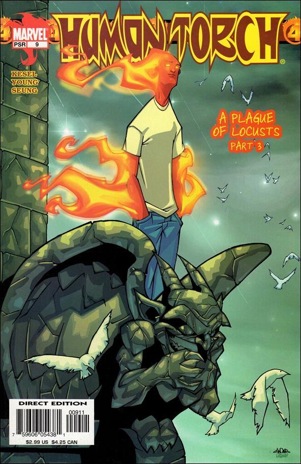 Human Torch (2003) 9-A by Marvel