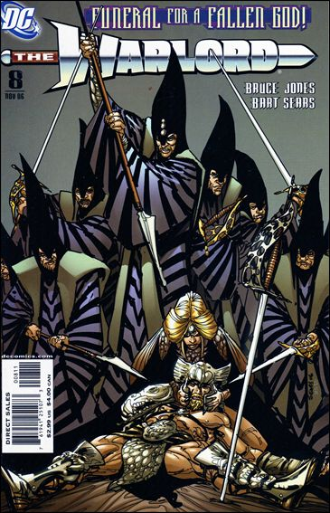 Warlord (2006) 8-A by DC