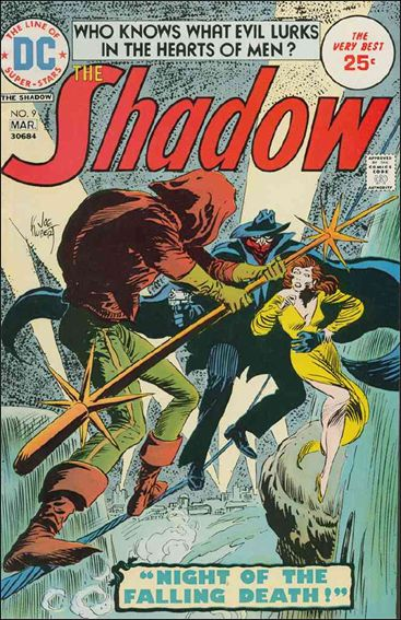 Shadow (1973) 9-A by DC