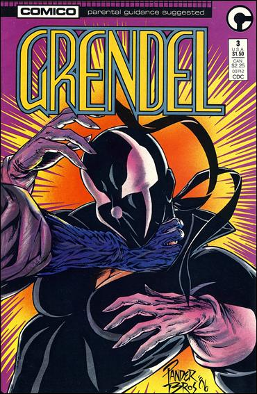 Grendel (1986) 3-A by Comico