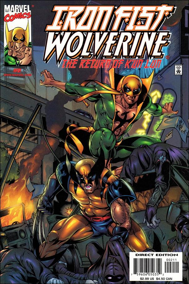 Iron Fist: Wolverine 2-A by Marvel