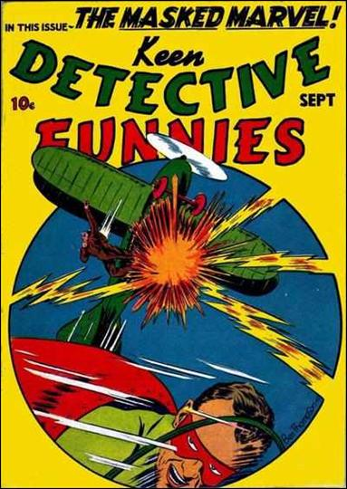 Keen Detective Funnies (1939) 9-A by Centaur Publications Inc.