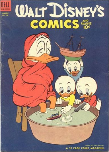 Walt Disney's Comics and Stories (1940) 160-A by Dell