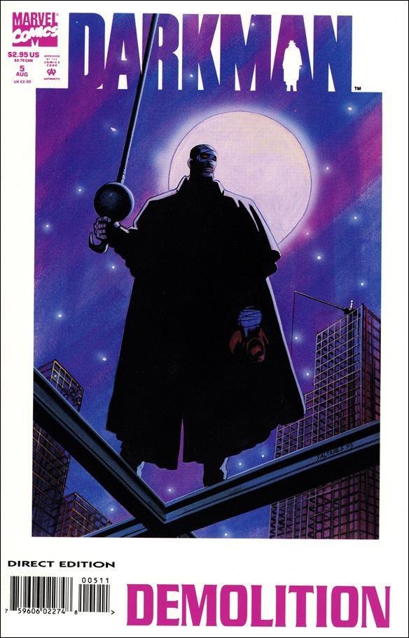 Darkman (1993) 5-A by Marvel