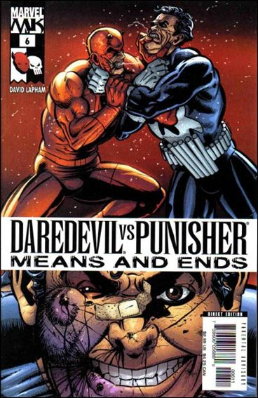 Daredevil vs Punisher: Means and Ends 6-A by Marvel
