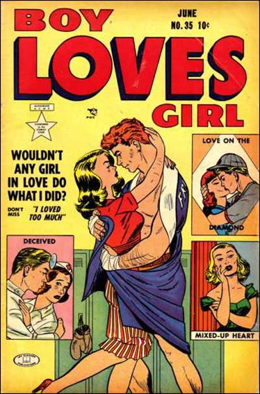 Boy Loves Girl 35-A by Lev Gleason Productions